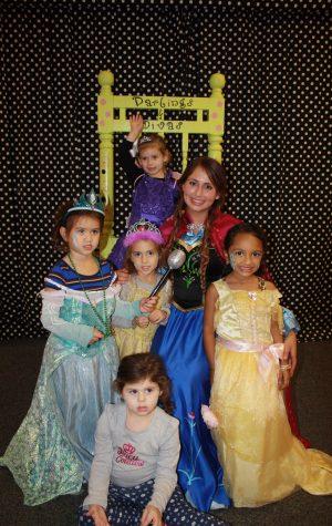 boutique party area princess
